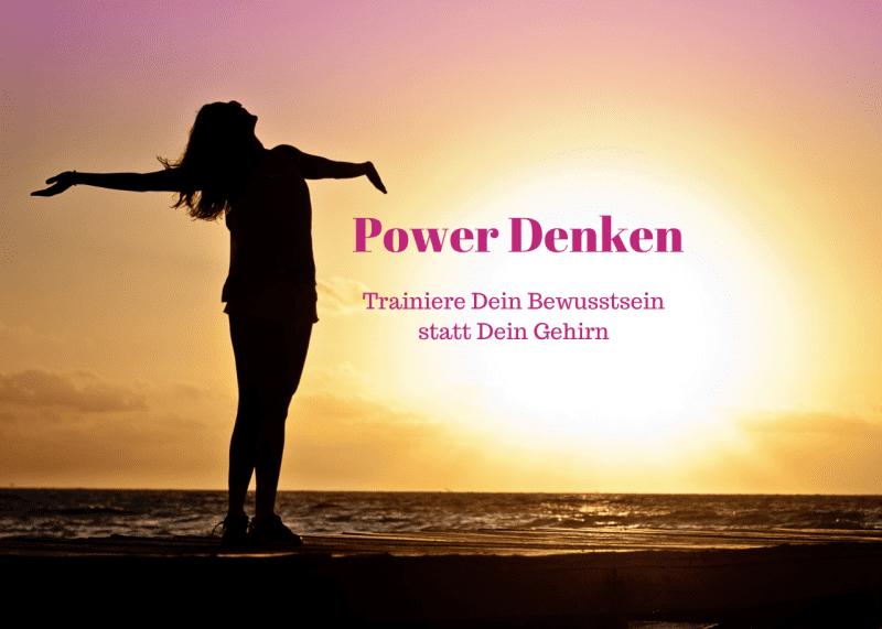 Bellafit Erfolgszentrum - Power Denken -Trainiere Dein Bewusstsein statt Dein Gehirn